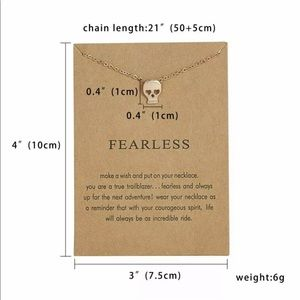 Jewelry - 3 for $25 ➷ Fearless Necklace ➷